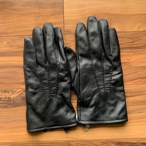 Sheep leather means leather Gloves XL